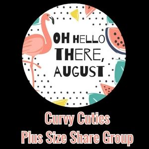 8/1 PLUS SIZE SHARE GROUP: CURVY CUTIES